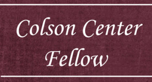 Colson Center Fellow