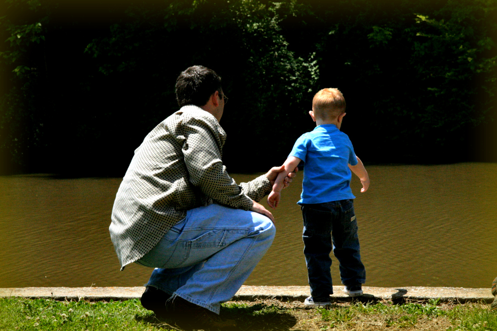 Dad and boy - Life's Biggest Questions and God's Answers