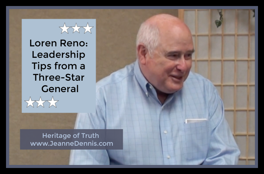 Loren Reno: Leadership Tips from a Three-Star General