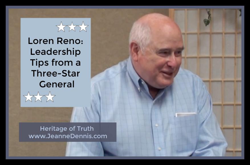 Loren Reno: Leadership Tips from a Three-Star General