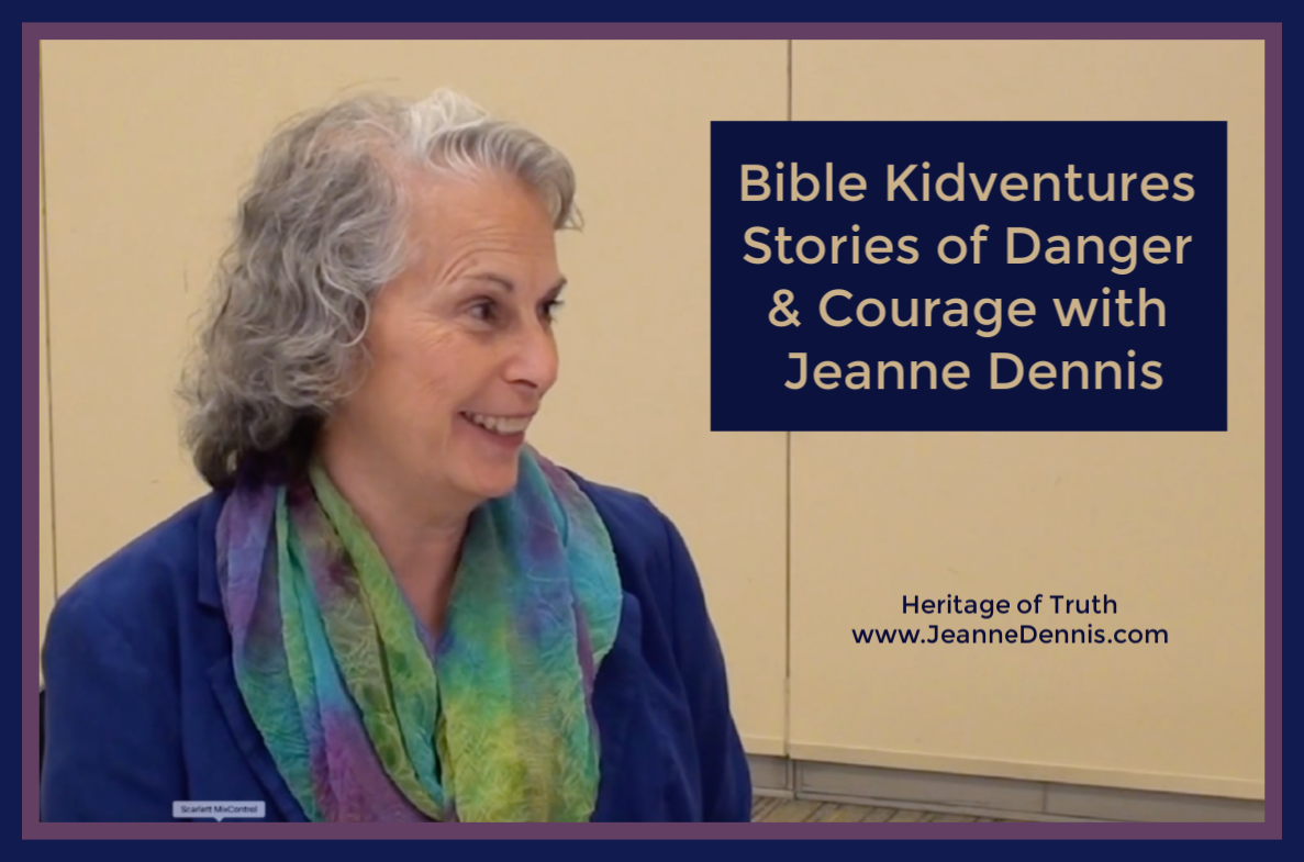 Bible Kidventures Stories of Danger and Courage with Jeanne Dennis