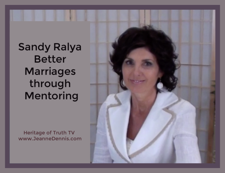 Sandy Ralya Better Marriages through Mentoring