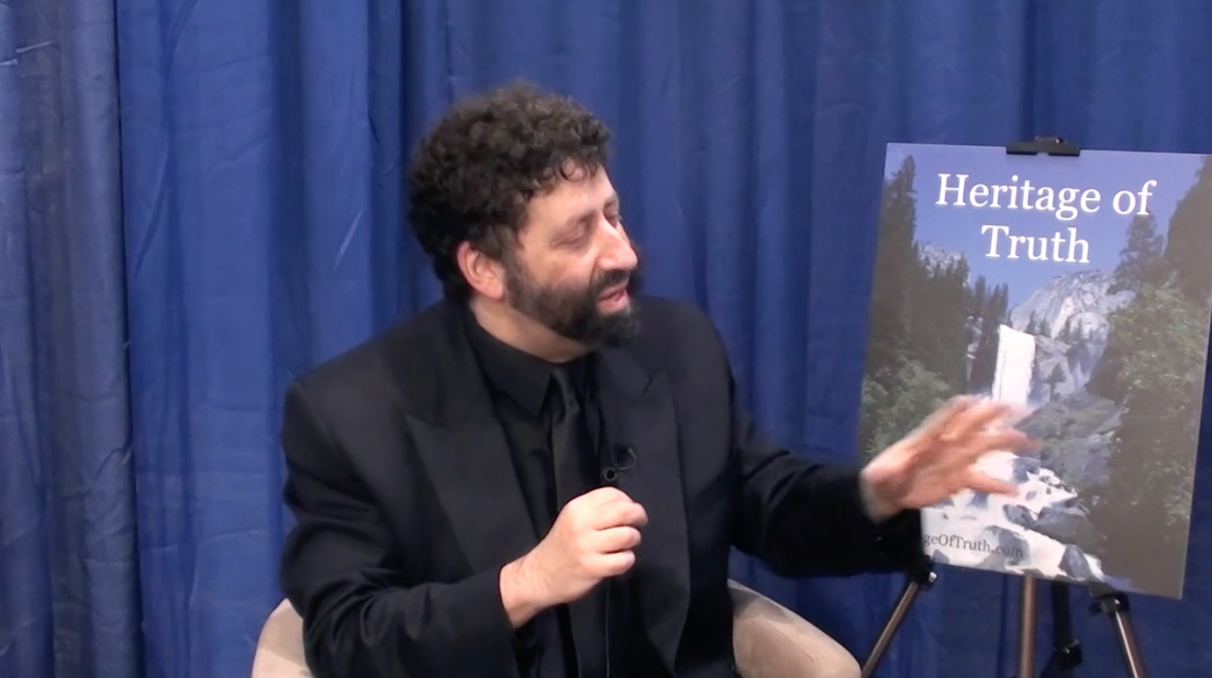 Jonathan Cahn Book of Mysteries, Heritage of Truth