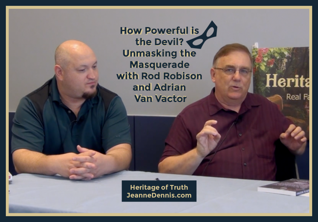 How Powerful is the Devil? How Powerful is the Devil? Unmasking the Masquerade with Rod Robison and Adrian Van Vactor