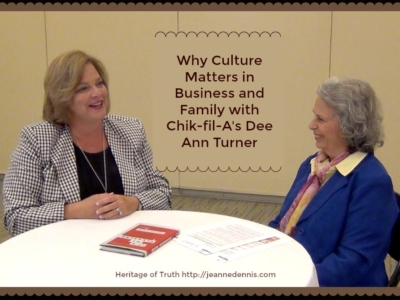 Dee Ann Turner Why Culture Matters