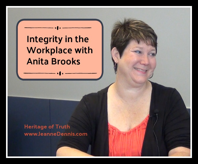 Integrity in the Workplace with Anita Brooks