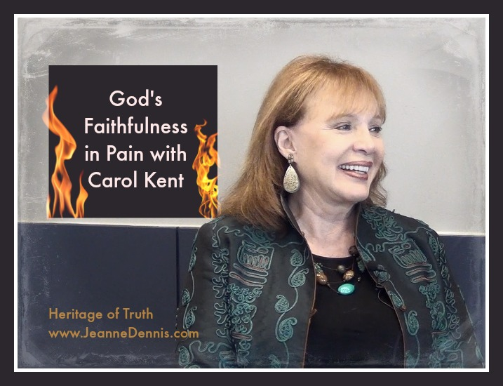 God's Faithfulness in Pain with Carol Kent