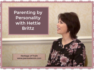 Parenting by Personality who Hettie Brittz