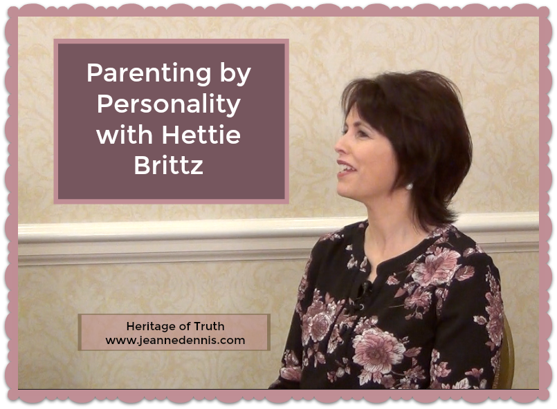 Parenting by Personality with Hettie Brittz