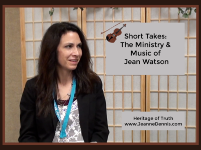 Short Takes: The Ministry & Music of Jean Watson