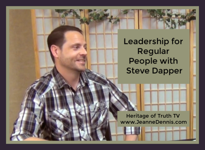 Leadership for regular people with Steve Dapper