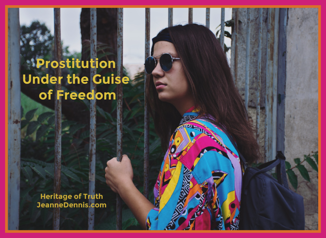 Prostitution Under the Guise of Freedom