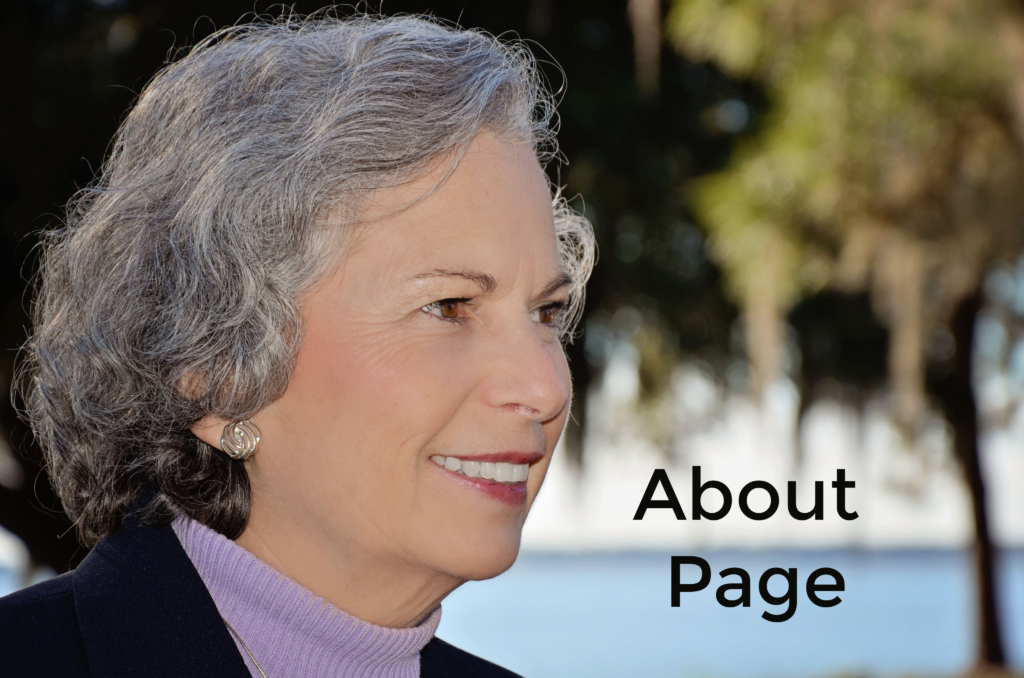 About Page, photo of Jeanne Dennis