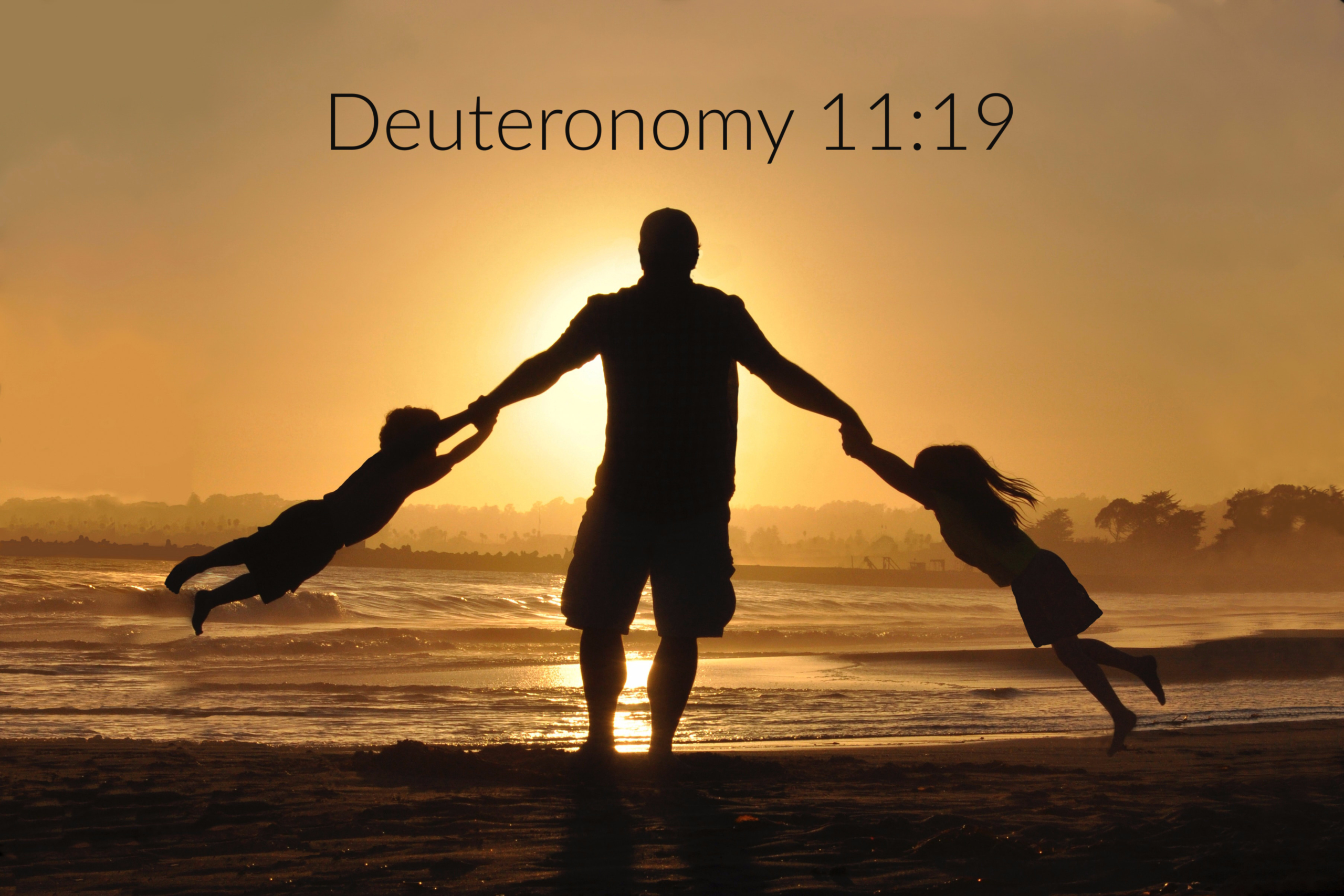 Be One Small Voice for God, Deuteronomy 11:19, JeanneDennis.com