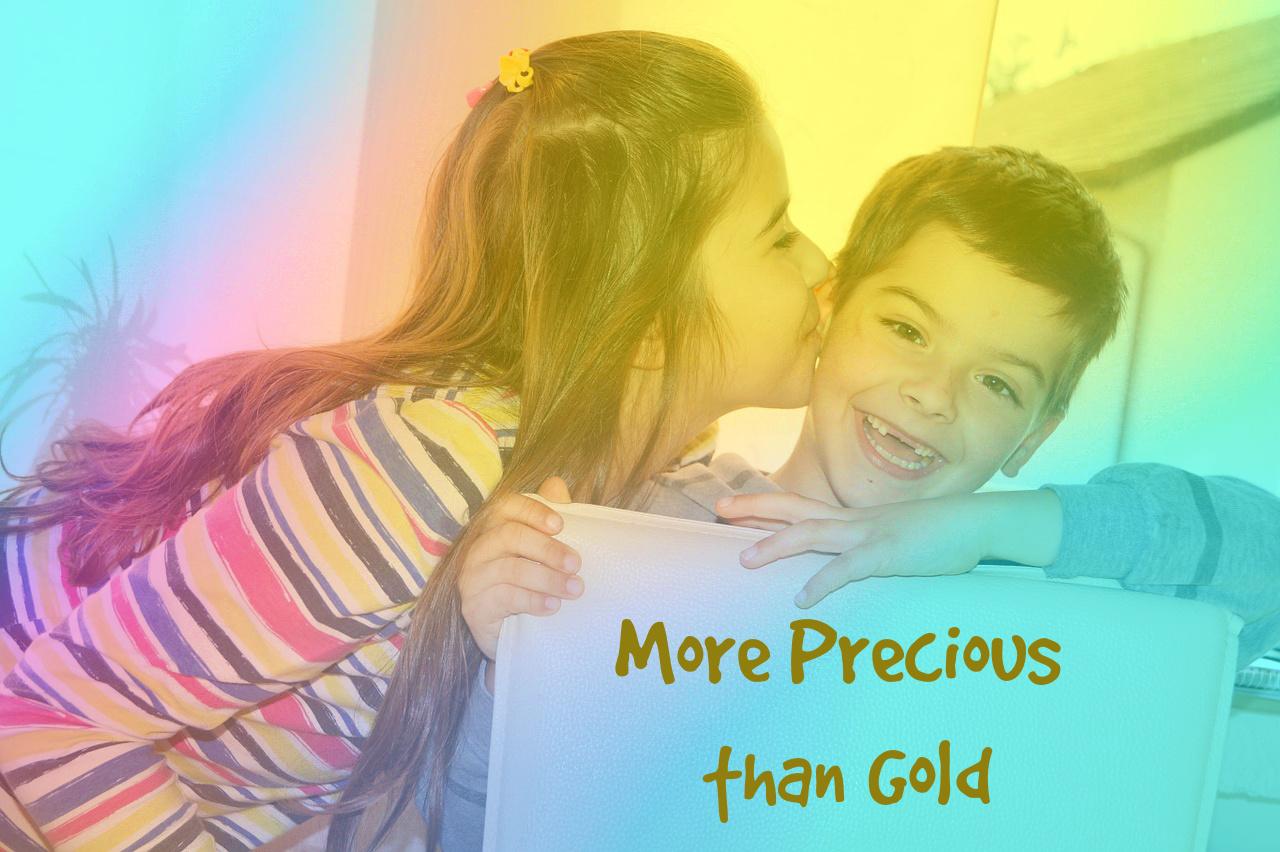 More Precious than Gold siblings