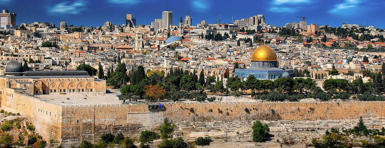 Getting Your Bible Z's puzzle by Enelle Eder, View of Jerusalem