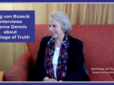 Craig von Buseck Interviews Jeanne Dennis about Heritage of Truth, Heritage of Truth TV, JeanneDennis.com